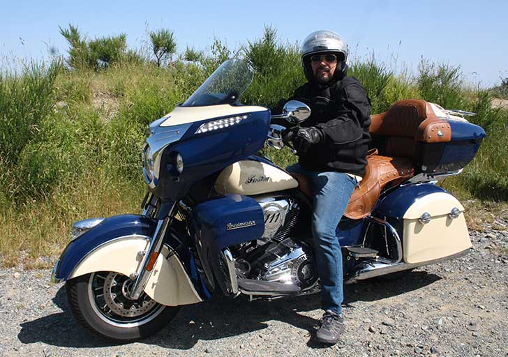 L' Indian Roadmaster nel Monferrato
